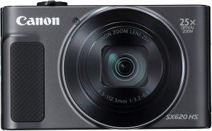 canon powershot sx620 hs 1 299x185 - Canon PowerShot SX620 HS Digitalkamera (20,2 Megapixel, 25-fach optischer Zoom, 50-fach ZoomPlus, 7,5cm (3 Zoll) Display, opt Bildstabilisator, WLAN, NFC) schwarz