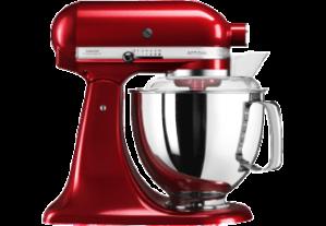 kitchenaid 5ksm175pseca artisan kchenmaschine rhrschssel kapazitt 48 1 299x207 - KitchenAid Küchenmaschine Artisan 4,8L Liebesapfel Rot