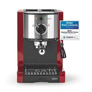 beem 02051 espresso perfect verbesserte version 2019 espressomaschine 1 300x300 - BEEM 02051 Espresso Perfect (Verbesserte Version 2019!) | Espressomaschine für Pulver & Pads (1350 Watt, 15 bar) | Espresso, Cappuccino, Latte Macchiato, XXL-Crema, Kaffee Lungo | Brillantrot
