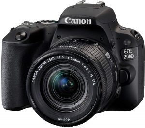 canon eos 200d digitale spiegelreflexkamera 1 300x265 - Canon EOS 200D Digitale Spiegelreflexkamera (24,2 Megapixel, 7,7 cm (3 Zoll) Display, APS-C CMOS-Sensor, WLAN mit NFC, Full-HD, DIGIC 7) schwarz  inkl 18-55mm 1:4,0-5,6 IS STM Objektiv