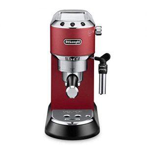 delonghi dedica ec 685r espresso siebtrgermaschine 15 bar 1 1 300x300 - De'Longhi Dedica EC 685.R Espresso Siebträgermaschine | 15 bar | Professionelle Milchschaum Düse| Füllmenge 1 l | Vollmetallgehäuse | Auch für Pads geeignet | Rot