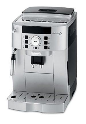 delonghi ecam 22110 sb kaffee vollautomat 1450 watt 18 liter 15 bar 300x433 - De'Longhi ECAM 22.110.SB – Kaffeevollautomat mit Milchaufschäumdüse, Digitaldisplay mit Klartext, 2-Tassen-Funktion, großr 1,8 l Wassertank, 35,4 x 23,8 x 43 cm, silber/schwarz
