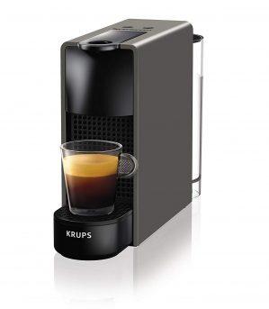 krups nespresso xn110b essenza mini kaffeekapselmaschine 1260 watt 1 299x343 - Krups Nespresso XN110B Essenza Mini Kaffeekapselmaschine (1260 Watt, Thermoblock-Heizsystem, 0,7 Liter, 19 bar) grau [Energieklasse A]