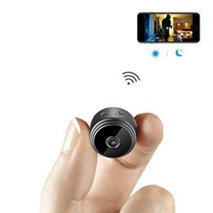 mini kameratodayi wireless wifi mini wlan berwachung kamera 300x300 - Mini-Kamera TODAYI Wireless WiFi Mini WLAN Überwachung Kamera Kindermädchen-Kamera mit Bewegungserkennung für iPhone/Android Phone/iPad (Mini Kamera)