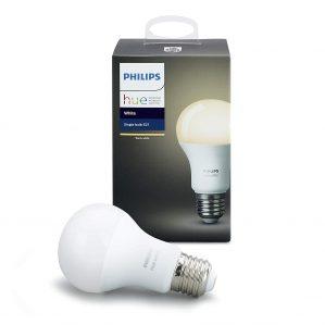 philips hue white e27 led lampe erweiterung dimmbar warmweies licht 1 299x299 - Philips Hue White E27 LED Lampe Erweiterung, dimmbar, warmweißes Licht, steuerbar via App, kompatibel mit Amazon Alexa (Echo, Echo Dot) [Energieklasse A+]