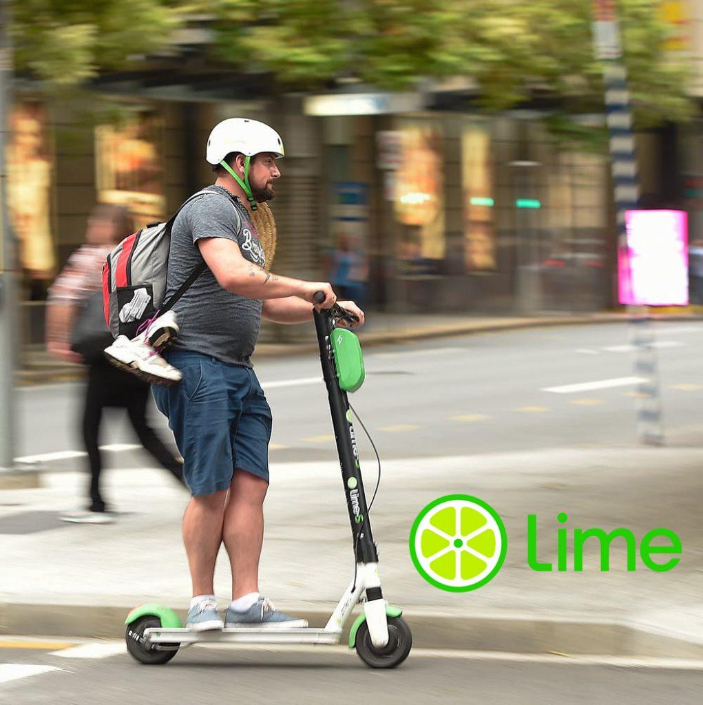 lime scooter 1 1021x1024 - Lime Gutschein Freischaltung kostenlos