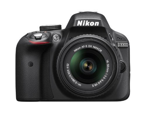 nikon d3300 242 mp cmos digital slr with auto focus s dx nikkor 18 55mm - Nikon D3300 and Simple Coupon with Review