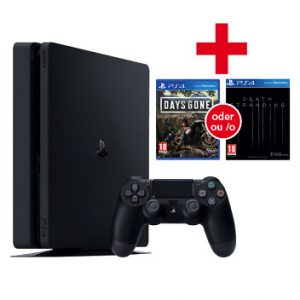 Sony Computer Entertainment PS4 1TB black + Game PlayStation 4