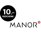Manor schenkt CHF 10.00 Gutschein
